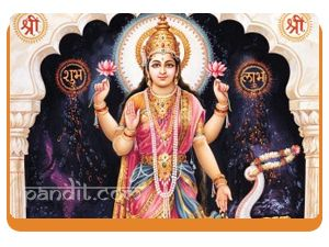 Vijaya lakshmi by Astrologer Rahul Kaushal -------------------------------------------------------- Goddess Lakshmi is the consort of Lord Vishnu and is the presiding deity for all kinds of wealth and prosperity. She is worshipped in eight different forms like Vidya lakshmi for studies, Vijaya Lakshmi for success in any job or venture. http://www.pandit.com/vijaya-lakshmi/