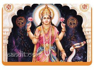 Vijaya lakshmi by Astrologer Rahul Kaushal -------------------------------------------------------- Goddess Lakshmi is the consort of Lord Vishnu and is the presiding deity for all kinds of wealth and prosperity. She is worshipped in eight different forms like Vidya lakshmi for studies, Vijaya Lakshmi for success in any job or venture. http://www.pandit.com/vijaya-lakshmi/