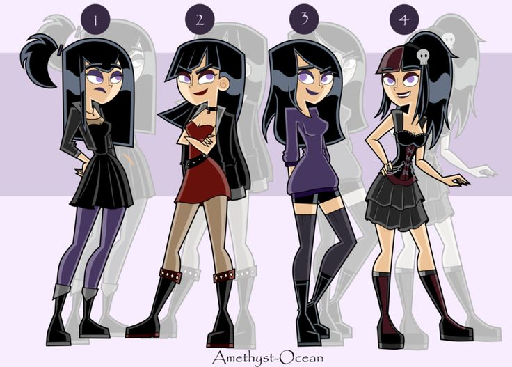 I love Sam!! There are so many ways to play with her hair and clothes! Which one do you like the most? xD I'm planning to do a part 2 soon! I accept suggestions! Danny Phantom© Butch Har...