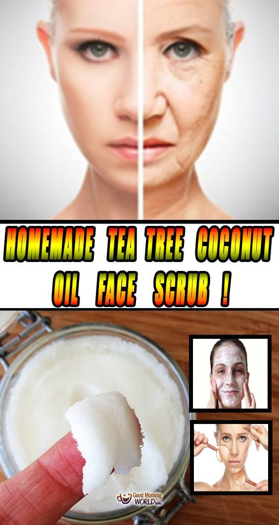In this article we will  introduce you to one of the most effective tea tree coconut oil face scrub. The great thing is that it serves as an exfoliator, moisturizer, and make-up remover (all-in-one), and it only requires three ingredients.