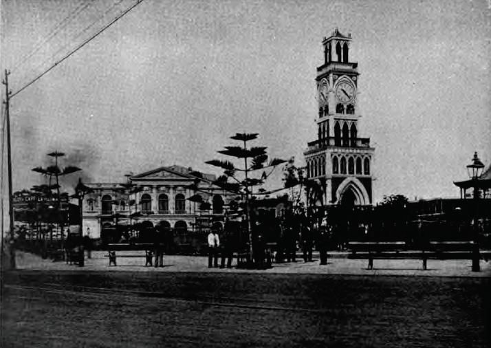 Iquique Chile | Description Chile Plaza Iquique 1901.jpg