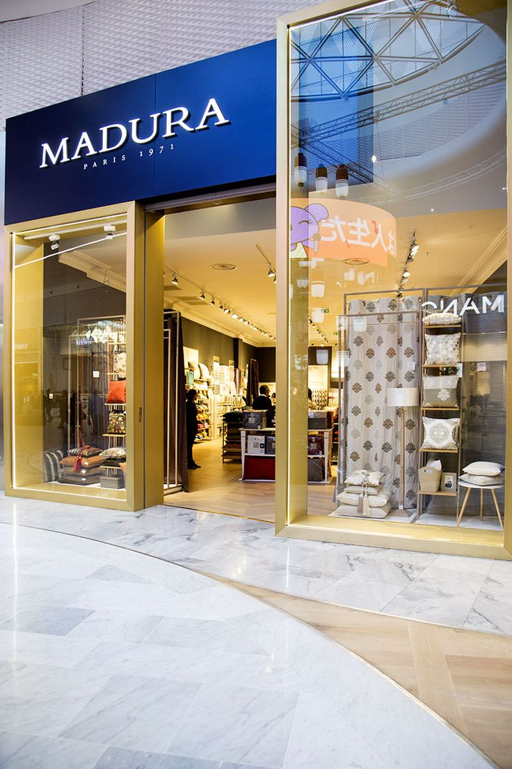 NEW MADURA Store!!! AEROVILLE Shopping Center, Roissy Charles De Gaulle, France