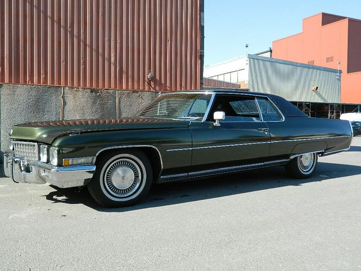 Cadillac Coupe de Ville 1971 SOLD