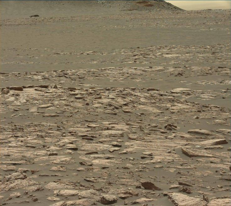 NASA's Mars rover Curiosity acquired this image using its Mast Camera (Mastcam) on Sol 1596