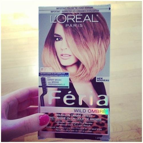 Test: Cheveux Ombrés / Ombre Hair At Home | À La Mode Montréal #montreal