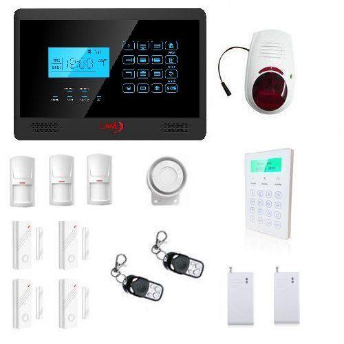 LKM Security Yl-007M2E Allarme Antifurto con Schermo Tattile, Frequenze Gsm 900/1800/1900Mh