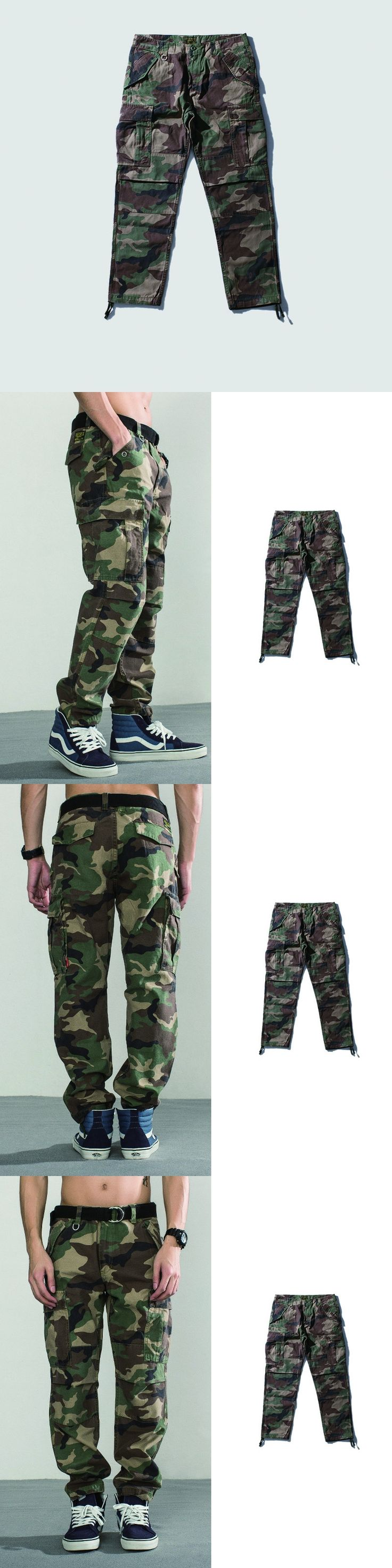 Men's Cargo Pants Camouflage Army Pants For Men Military masculino cool sweat Fashion Full Length Joggers Pants Men