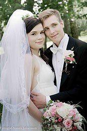 Ett nytt brudpar på #Nygifta.nu. Mera om bröllop och fler brudpar hittar du på #Nygifta www.nygifta.nu #Hbgnyheter