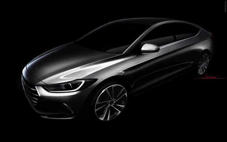 2016 Hyundai Elantra. Tron version lol