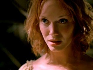 Christina Hendricks as Saffron/Bridget/Yolanda on Firefly.