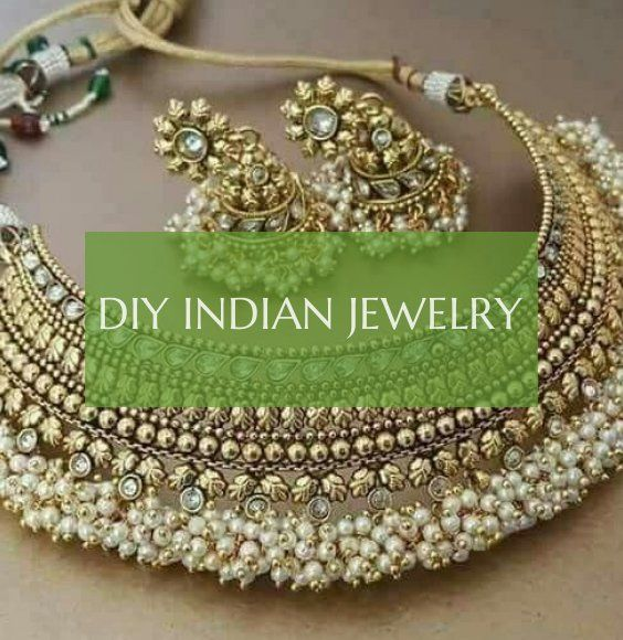 diy indian jewelry – diy indischer schmuck – gioielli indiani fai da te