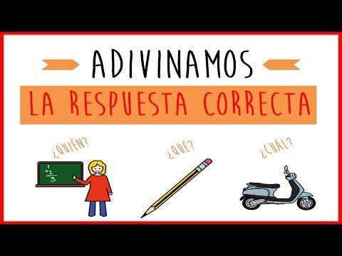 Adivinanzas para niños - Juego de estimulación lingüística - YouTube
