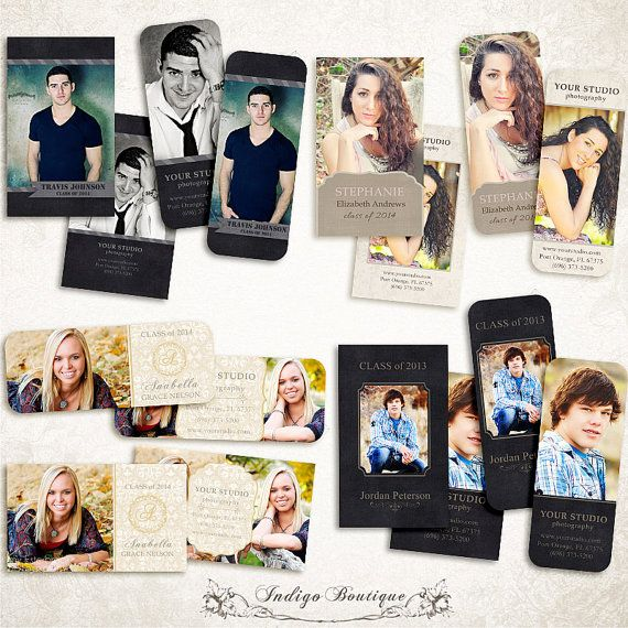 SAVE 30% - Bundle Senior Rep Card Templates for Photographers - Millers and WHCC  - ID139, Instant Download