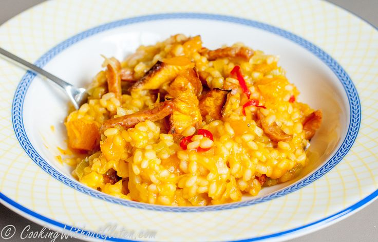 The second organic pumpkin we had as a gift from our friends was quite large. We enjoyed it again, simply roasted,and I also made pumpkin risotto, which I never cooked before. My regular readers p…