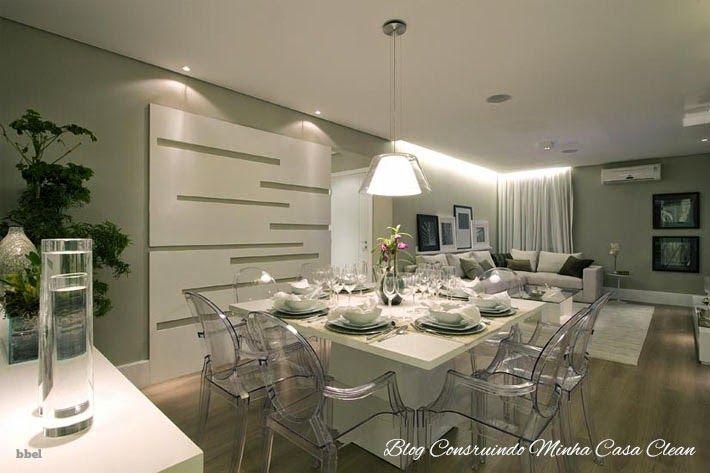 Salas de Jantar Decoradas com Mesas Brancas!!! Veja Dicas e Modelos!