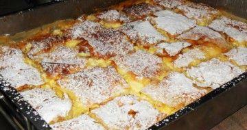 Foarte aromată și ușor de preparat, PLĂCINTA cu IAURT și LĂMÂIE e gata în 30 de minute