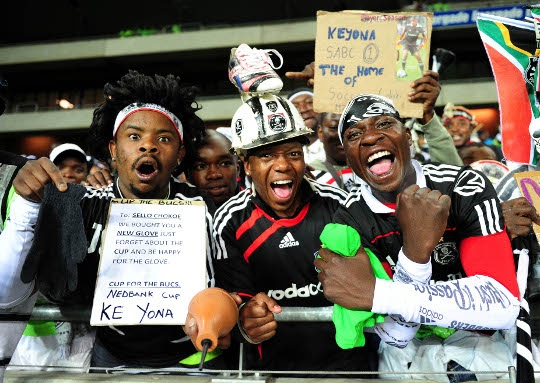 Loyal Orlando Pirates Fans.