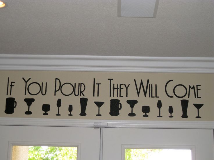 wall art for above bar <3 this!