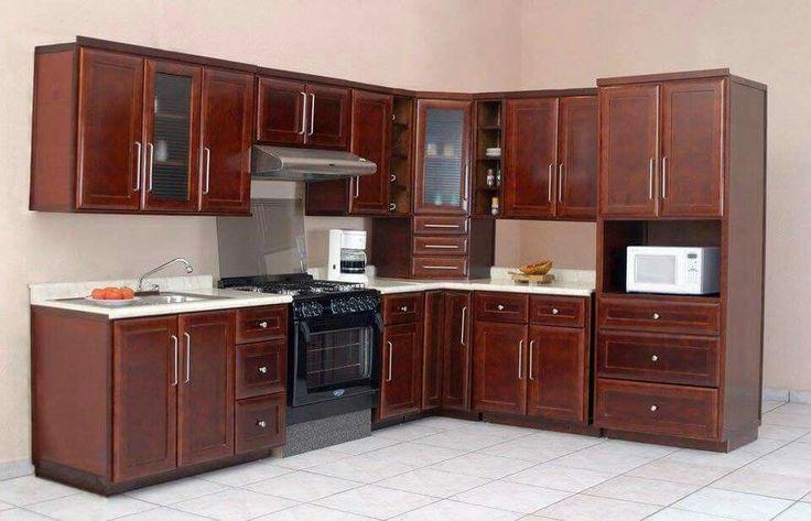 1000 ide tentang decoracion de cocinas integrales di for Cocinas integrales de madera