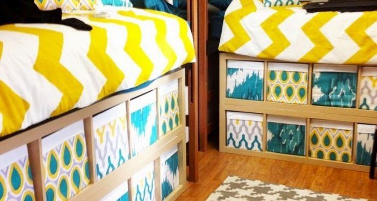 How Awesome Make Over Single Dorm Room Ideas