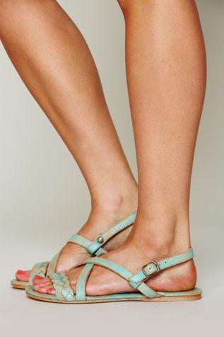Bed Stu + Free People Womens Kelsey Braided Sandal by: Free People