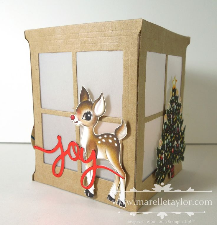 Marelle Taylor Stampin' Up! Demonstrator Sydney Australia: Home for Christmas Lumiere