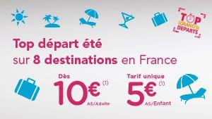 TGV à 10 € !!! Marne la vallée... vers Lyon, Marseille... et plus ! Bon plan SNCF : Ouverture des ventes OUIGO