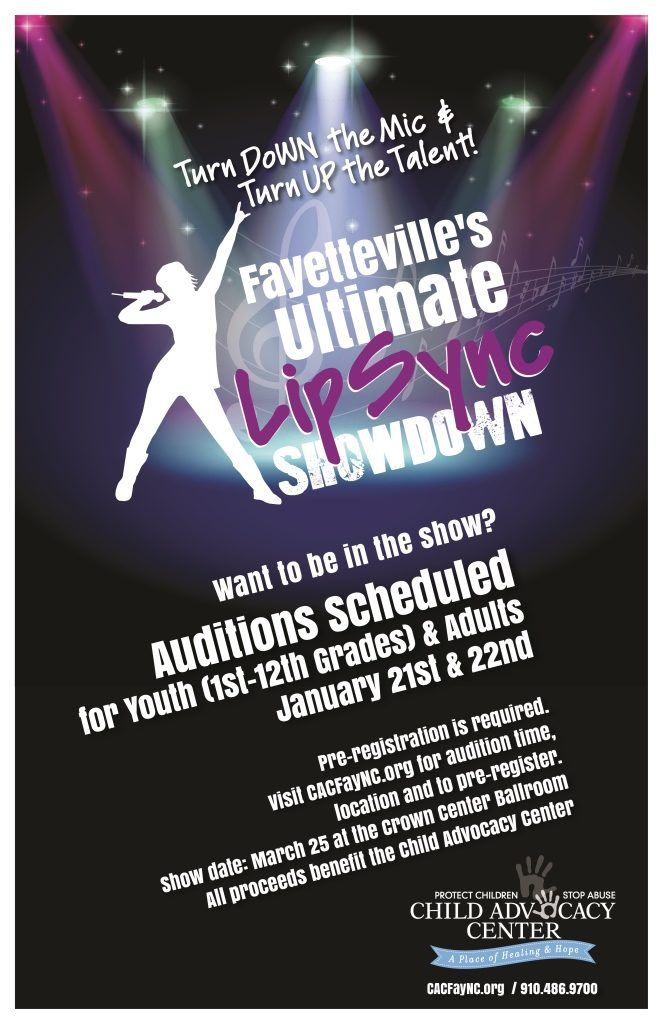 Get Your Act Together: Auditions Scheduled for Fayetteville�s Ultimate Lip Sync Showdown