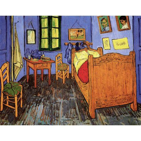 Reprodukcje obrazów Vincent van Gogh Vincent s Bedroom in Arles - Fedkolor