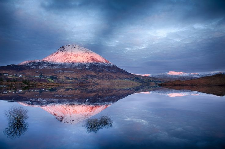 Photograph Errigal from Lough Dunlewy by Trevor Cole on 500px