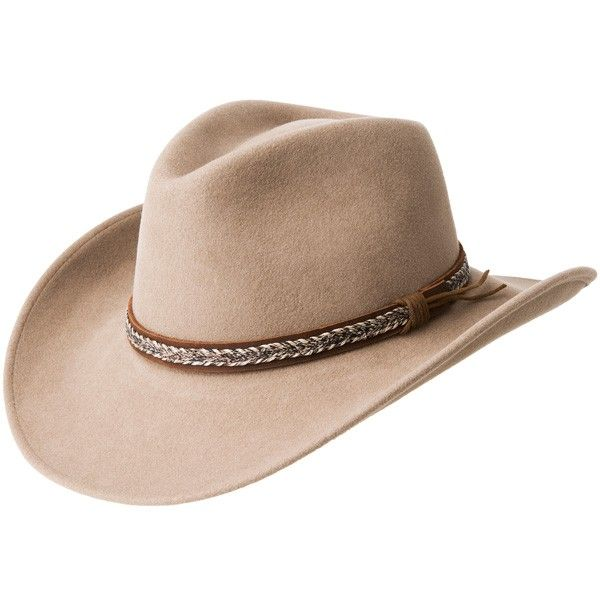 Take a look at our Bailey Nock - Soft Wool Cowboy Hat made by Bailey Western Hats as well as other outdoor hats here at Hatcountry.