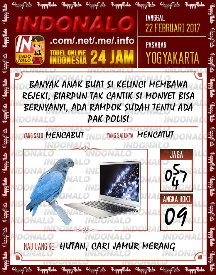 Taysen Pools 2D Togel Wap Online Live Draw 4D Indonalo Yogyakarta 22 Febuari 2017