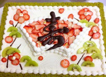 和婚ケーキの「スタンダード」