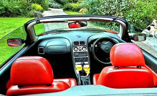 This Iconic Red MG MGF from Cherished Roadsters is For Hire (1995)
