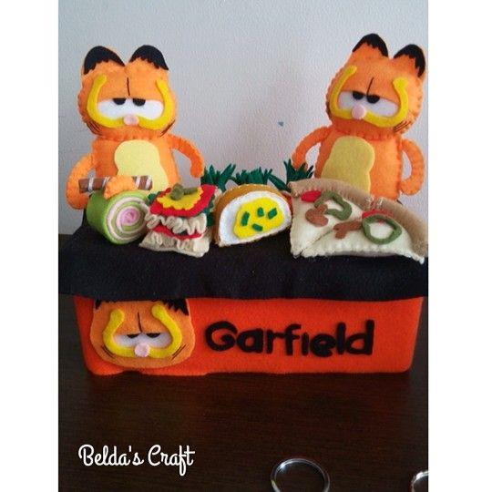 Garfield tissue box
