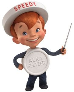 """SPEEDY""  from the Alka Seltzer commercials"