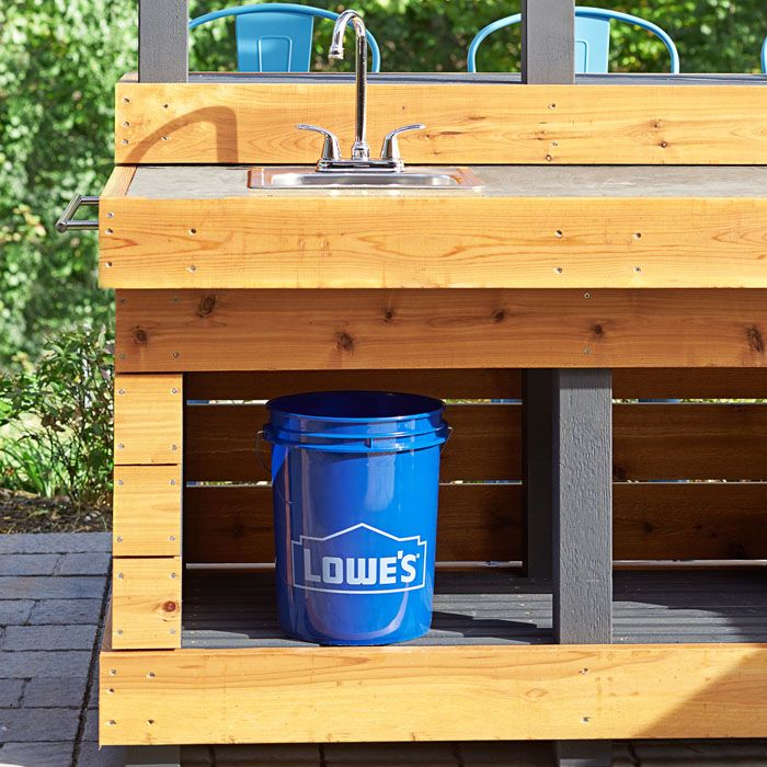 Lowes Outdoor Kitchens: 25+ Best Ideas About Outdoor Kitchen Sink On Pinterest