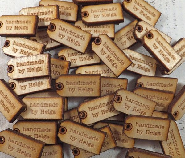 Custom Wood Tags - Handmade by …