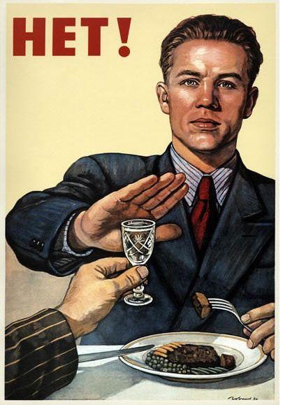 Great Soviet Era Anti-Drinking Propaganda Posters. http://www.theworldsbestever.com/2014/01/09/soviet-era-anti-drinking-propaganda/ - Ignited by Roe