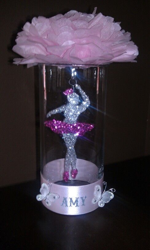 1000 images about centerpiece ideas on pinterest for Ballet shoes decoration
