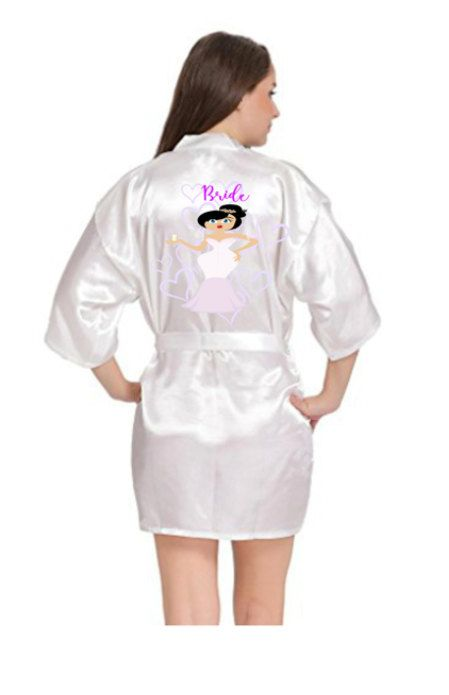 Bride Dressing Gown Bridesmaid Dressing Gown by PerfectParcels1
