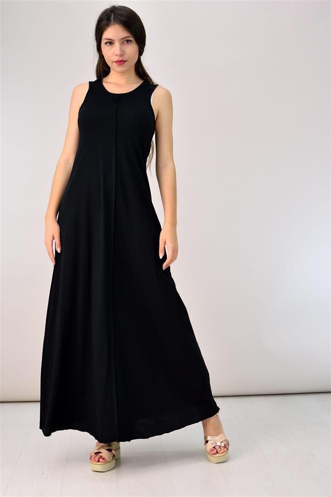 Potre – Φόρεμα με διακοσμητικές ραφές