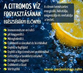 A citromos víz fogyasztásának egészségügyi előnyei || www.perjeskinga.com