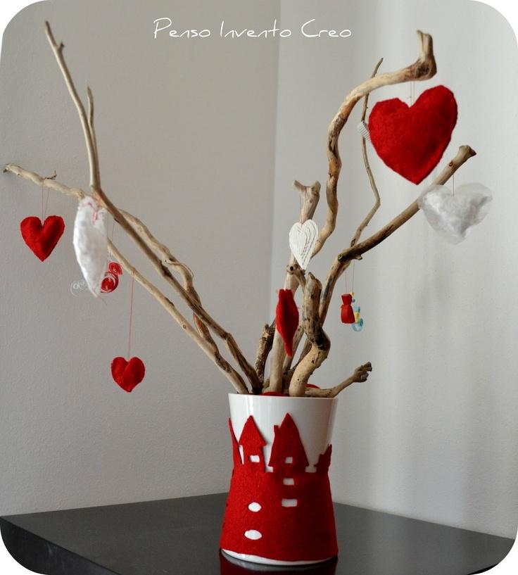 Oltre 25 fantastiche idee su decorare barattoli di vetro - Rami decorativi per vasi ...