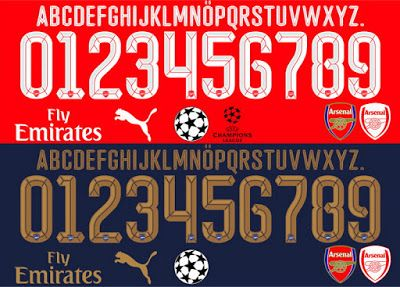 Tipografía Arsenal 2016