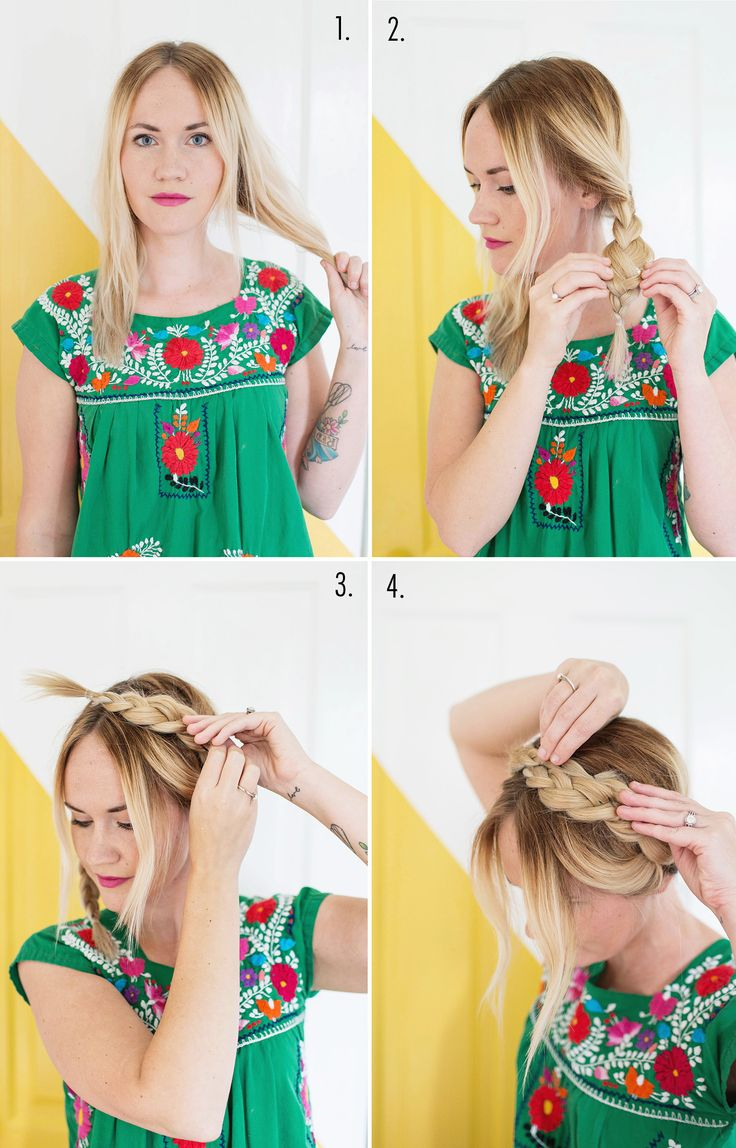 Best BeachReady Looks Images On Pinterest Makeup Classy - Diy hairstyle knotted milkmaid braid