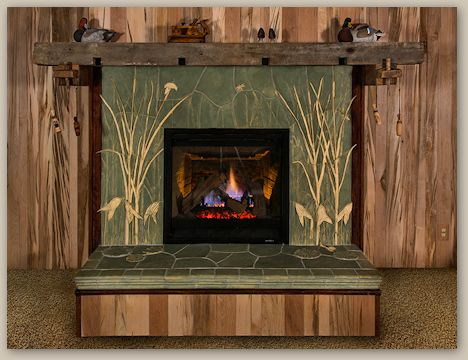 Fireplace Decorative Tiles 248 Best Fireplaces & Chimneys Images On Pinterest  Mantles
