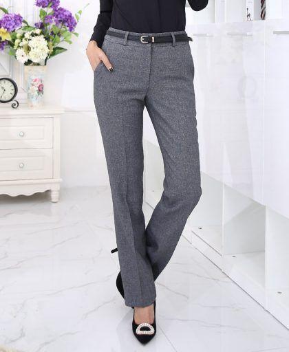 Wiccon 2018new Autumn Autumn Gold Zipper High Waist Back Zip Wide Leg Pants Work Office Lady Pant Trousers Female Women Trousers 2019 New Fashion Style Online Women's Clothing Pants & Capris