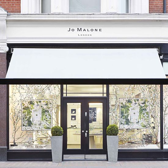 Osmanthus Blossom Windows at Jo Malone London, Sloane Street Boutique