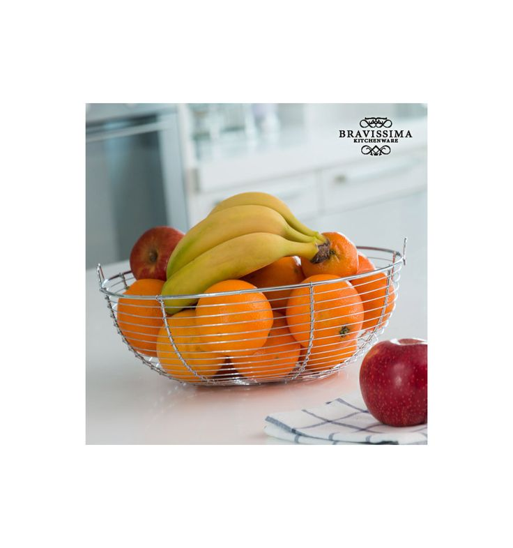Corbeille à Fruits en Métal Bravissima Kitchen - 10,03 €Renouvelez vos accessoires de cuisine avec des articles pratiques, tels que lacorbeille à fruits en métalBravissima Kitchen. Avec cette corbeille à fruits, vous pourrez entreposer vos fruits...
